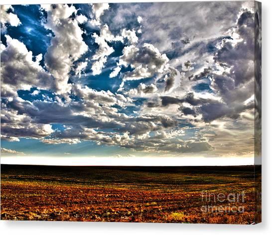 Serene Skies Canvas Print by Christian Jansen