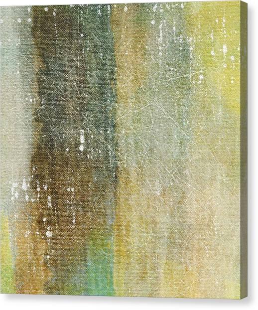 Epic Amazing Colors Landscape Digital Modern Still Life Trees Warm Natural Canvas Print - Serenity by Brett Pfister