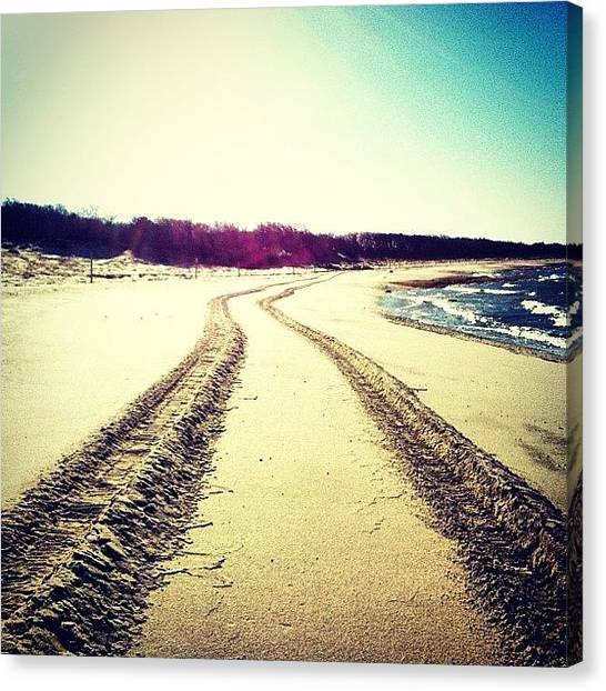 Offroading Canvas Print - Serenity by Dan Gilrein
