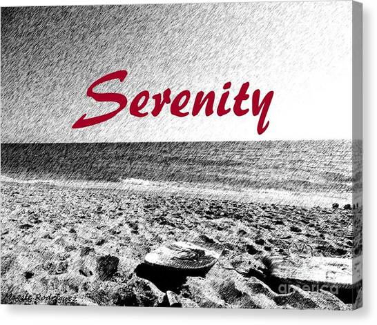 Serenity Canvas Print by Maggie Rodriguez
