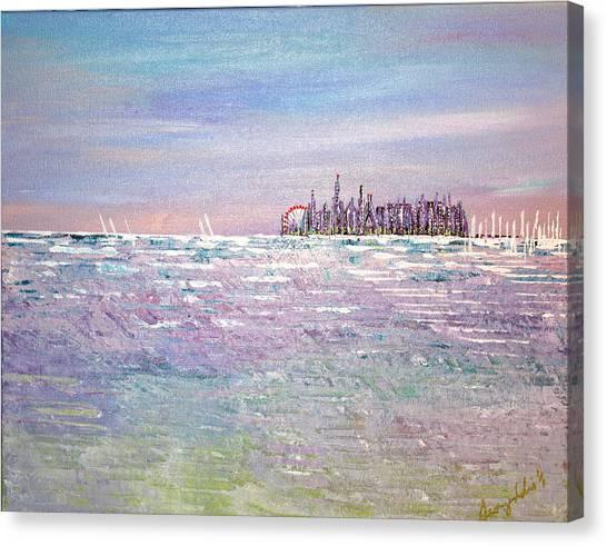 Serenity Sky - Sold Canvas Print