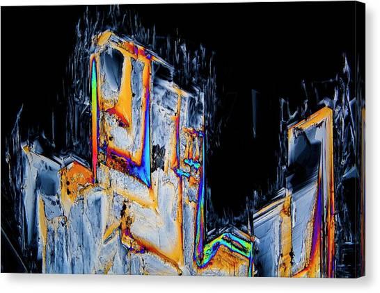 Biochemical Canvas Print - Serine Amino Acid by Antonio Romero