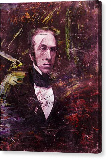 Historical Canvas Print - Serious Fellow 1 by James W Johnson