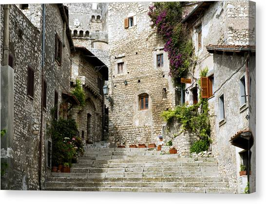 Sermoneta Canvas Print