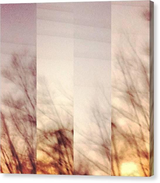 Rhythm Canvas Print - Set by Kobee King