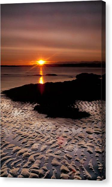 Seton Sunrise Canvas Print