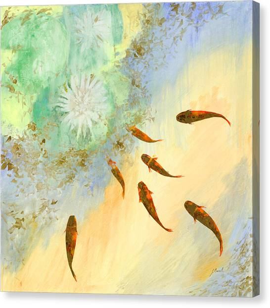 Koi Fish Canvas Prints | Fine Art America