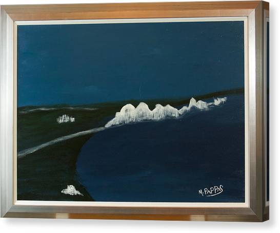 Seven Sisters Canvas Print by Margaret Pappas