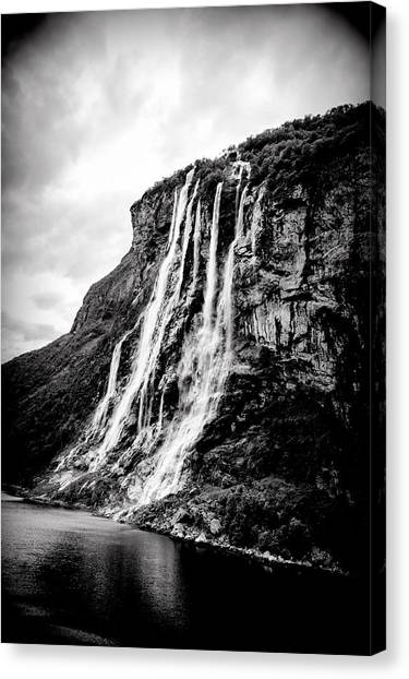 Seven Sisters Waterfall Canvas Print