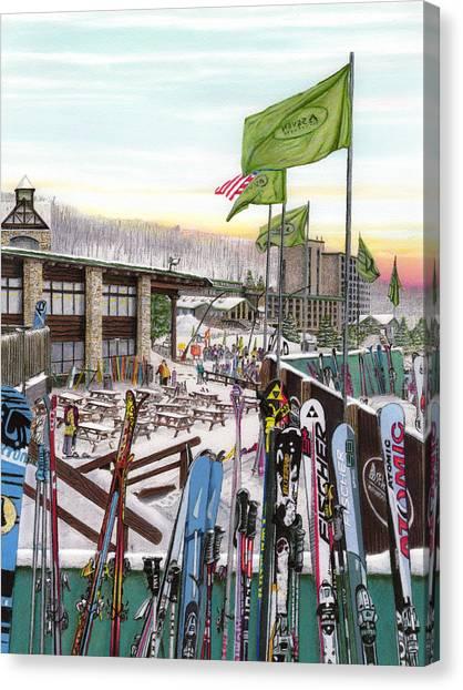 Seven Springs Mountain Resort Canvas Print