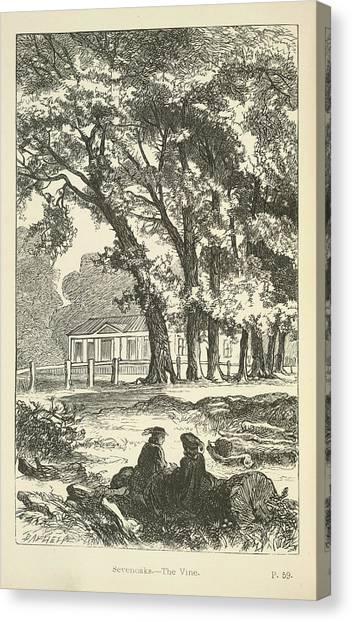 E.t Canvas Print - Sevenoaks by British Library