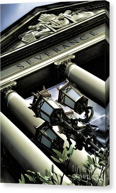 Severance Hall - Home Of The Cleveland Orchestra Canvas Print