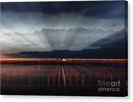 Severn Bridge Canvas Print