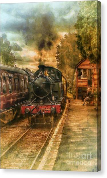 Severn Valley Railway Canvas Print by J A Evans