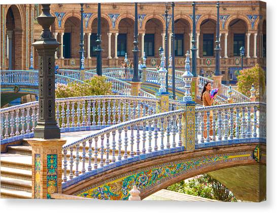 Sevilla In Spain Canvas Print by Francesco Riccardo  Iacomino