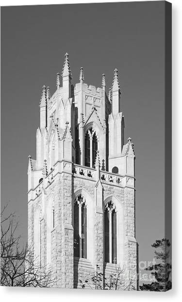 The University Of Tennessee Canvas Print - The University Of The South All Saints' Chapel by University Icons