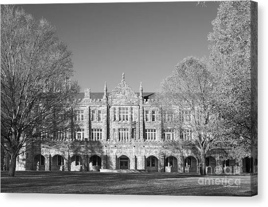 The University Of Tennessee Canvas Print - The University Of The South Walsh- Ellett Hall by University Icons