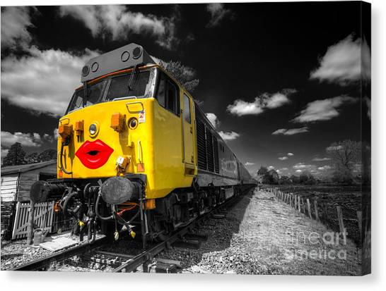 Thomas The Train Canvas Print - Sexed Up by Rob Hawkins