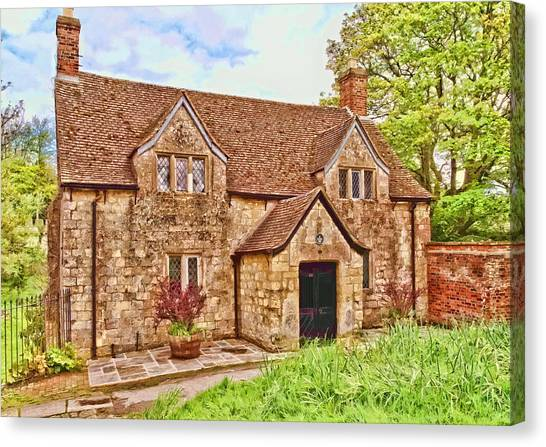 Sextons Cottage Devizes Canvas Print