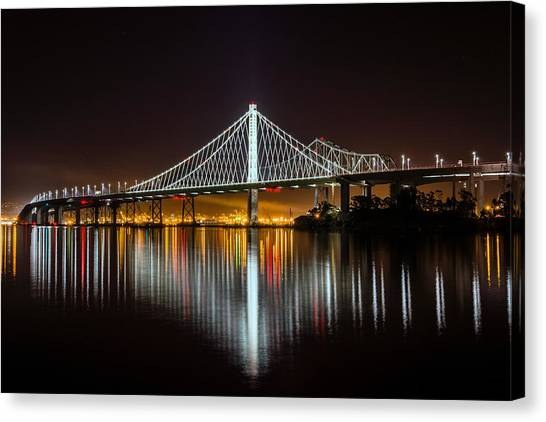 Sf Bay Bridge Canvas Print