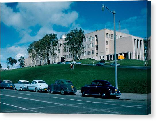 Sf City College 1956  2 Canvas Print by Cumberland Warden