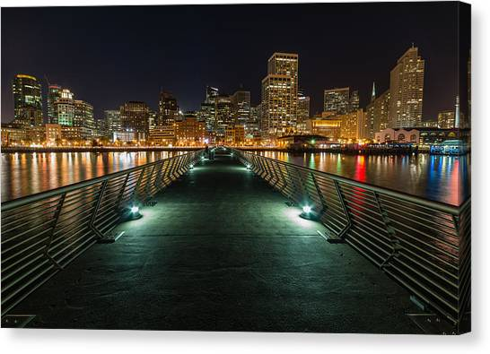 Sf Pier 14 Canvas Print