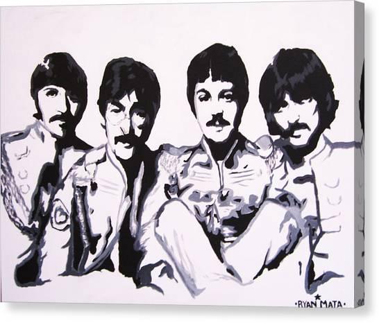 Paul Ryan Canvas Print - Sgt. Pepper by Ryan Mata