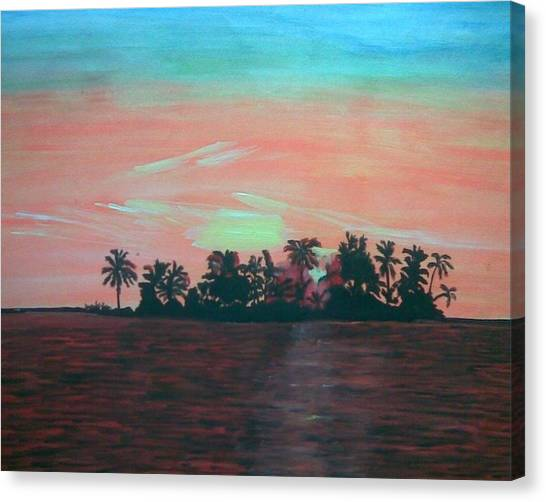 Shaamosam Canvas Print by Vikash Kumar
