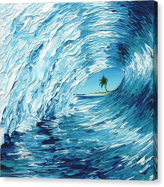 Surf Shack Canvas Print   Shack Therapy 1 By Michael Baum