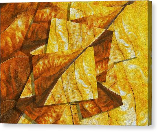 Installation Art Canvas Print - Shades Of Autumn by Jack Zulli