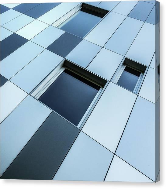 Shades Of Blue Canvas Print by Luc Vangindertael (lagrange)