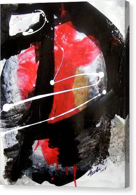Shades Of Discourse Canvas Print