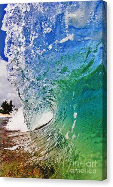 Shades Of Lani Canvas Print