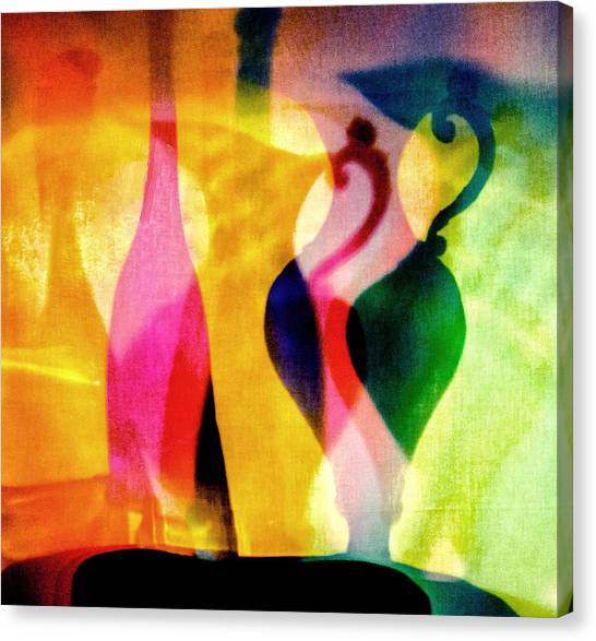 Shades Of Vase And Pitcher Canvas Print