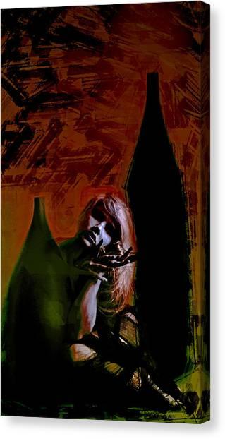 Shadow Comfort Canvas Print