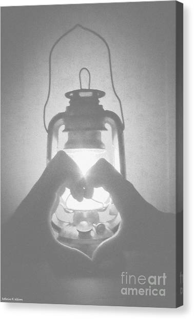 Shadow Canvas Print by Katherine Williams