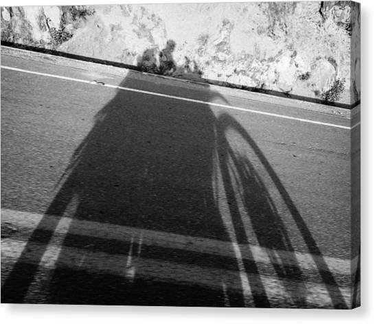 Shadow Of Adventure Canvas Print