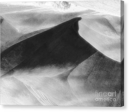 Shadow On The Land Canvas Print
