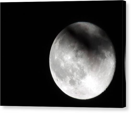 Shadow On The Moon Canvas Print