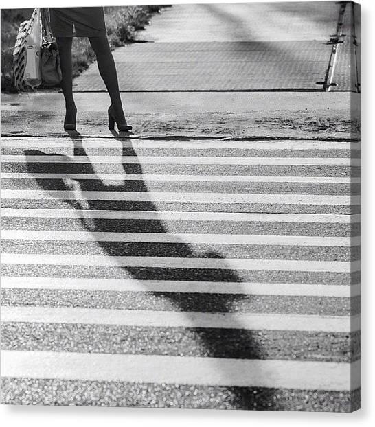 Rhythm Canvas Print - #shadow #rhythm #тень #ритм by Arkady Chumakov