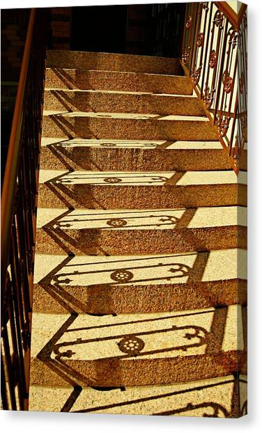 Shadow Steps Canvas Print by JAMART Photography