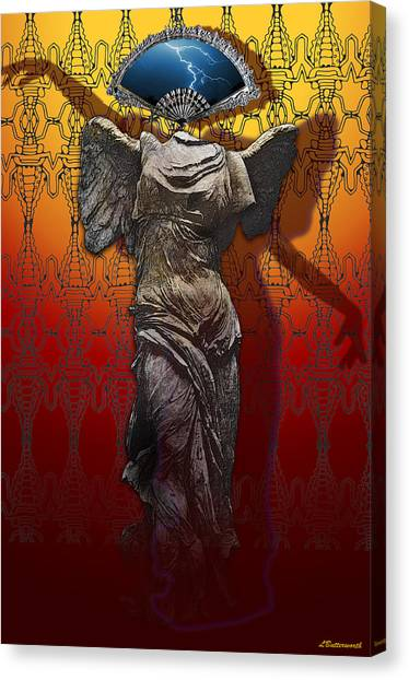 Shadowdancer Canvas Print by Larry Butterworth