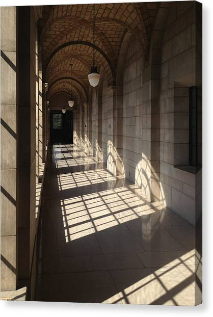 Shadows And Stone Canvas Print