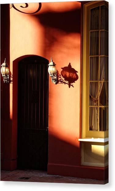 Shadows In The French Quarter Canvas Print
