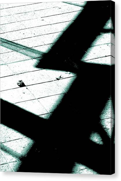 Shadows On The Floor  Canvas Print