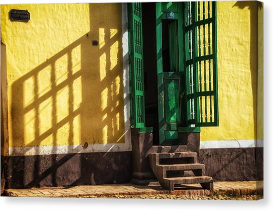 Shadows On The Wall Canvas Print