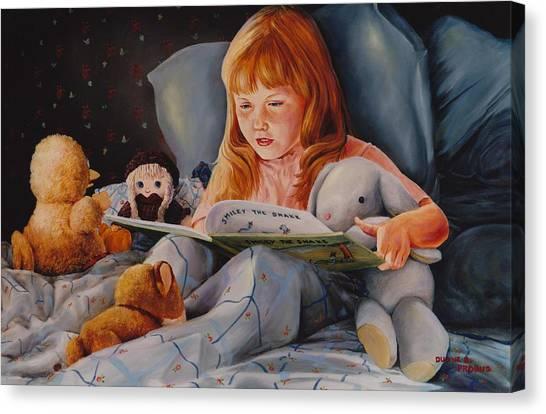 Shaina's Friends Canvas Print