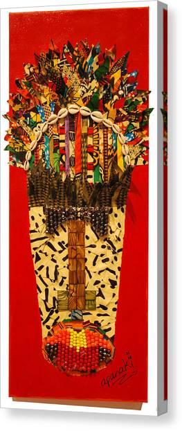 Shaka Zulu Canvas Print