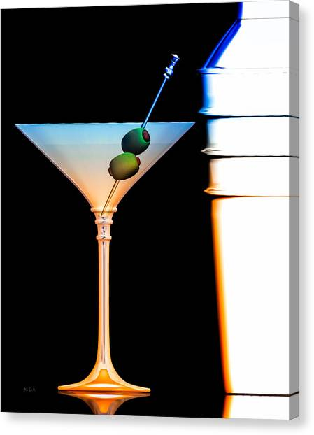 Goldeneye 007 Canvas Print - Shaken Not Stirred by Bob Orsillo