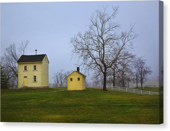 Shakertown Morning Canvas Print